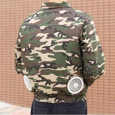 Áo điều hòa Nhật Bản KITO chính hãng ADH06 BH 1 Năm, Pin 6800mAh - Aodieuhoa.Vn