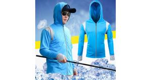 Ứng dụng tuyệt vời của sản phẩm áo điều hoà cho dân câu cá